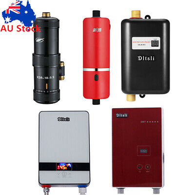 Instant Electric Water Heater Bath Kitchen Under Sink Faucet Hot Water System AU