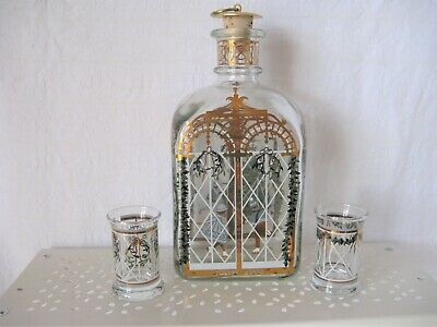 HolmeGaard As New Decanter + 2 Matching Shot Glasses 2000