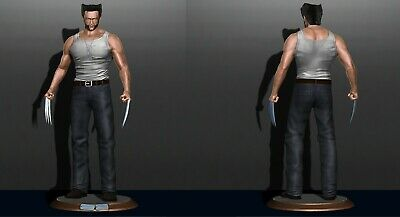 Hellboy Model Miniature Assembly File STL for 3D Printing FDM-FFF DLP-- SLA-SLS