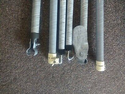 CARAVAN AWNING ROOF Pole With Adjustable Clamp End - £17 ...
