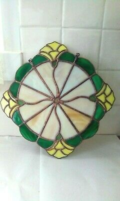 Tiffany Style Stained Glass Suncatcher Window Wall Hanging