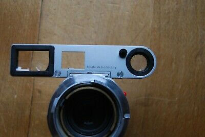 Leica Summicron 50mm  F2 close focus lens with Spectacles