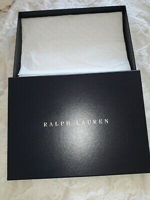 Ralph Lauren Presentation Gift Box With Tissue Paper