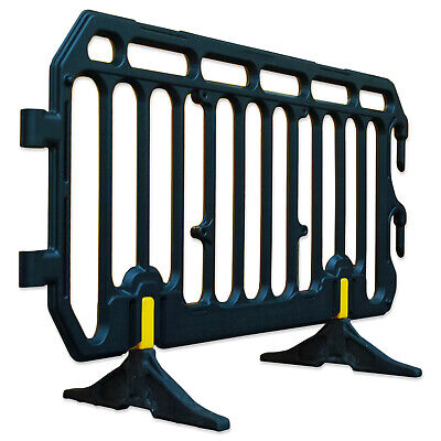 2 Meter Pedestrian Crowd Control Barrier - Orange OR Grey - Event Safety
