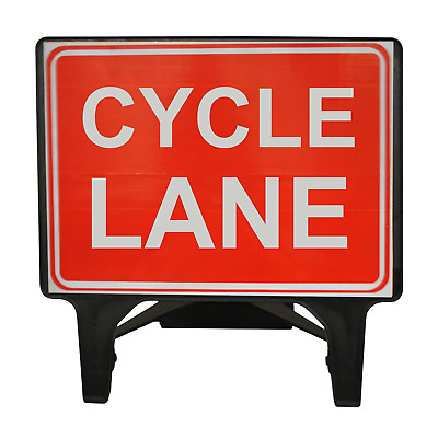 Cycle Lane - 1050 x 750mm Road Traffic Safety Sign - BRAND NEW