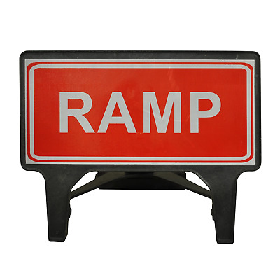 RAMP - 1050 x 450mm Road Traffic Management Safety Sign - BRAND NEW