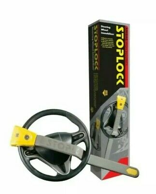 & Stoplock Car Van Steering Wheel Security Crook Lock Airbag Compatable 4x4 9:21
