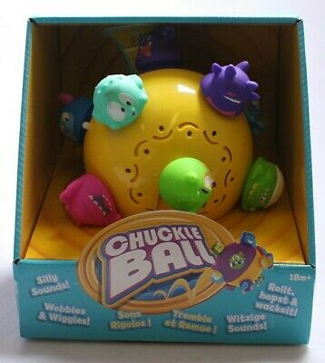 Chuckle Motorised Ball Toddler Game Sound Toy Baby 18 months+