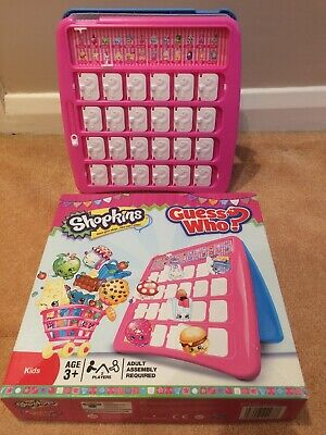 Guess Who Shopkins By Hasbro Gaming Classic Kids Game/Toys Guessing Game Age 3+