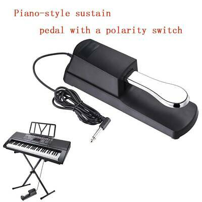 Universal Sustain Foot Pedal Damper Polarity Switch for Electric Piano Keyboard
