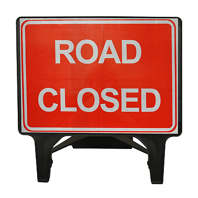Road Closed - 1050 x 750mm Road Traffic Safety Sign - BRAND NEW