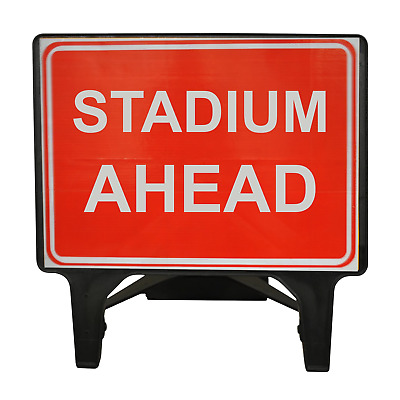 Stadium Ahead - 1050 x 750mm Road Traffic Safety Sign - BRAND NEW