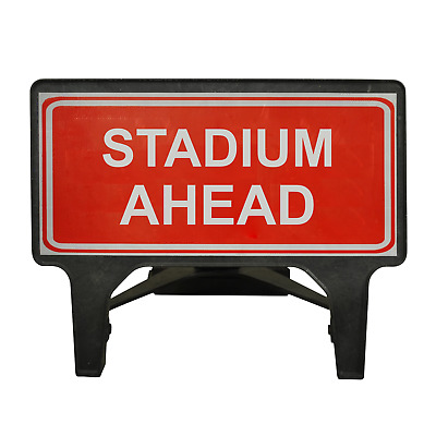 Stadium Ahead - 1050 x 450mm Road Traffic Management Safety Sign