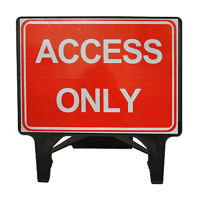Access Only - 1050 x 750mm Road Traffic Safety Sign - BRAND NEW