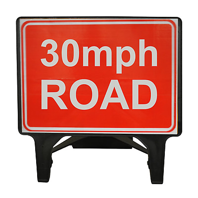 30mph Road - 1050 x 750mm Road Traffic Safety Sign - BRAND NEW