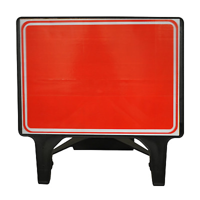 Blank Red - 1050 x 750mm Road Traffic Safety Sign - BRAND NEW