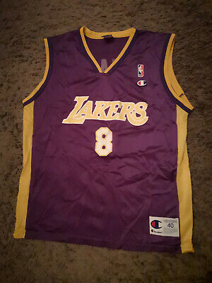 Kobe Bryant 8 LAKERS Trikot Jersey M NBA Champion