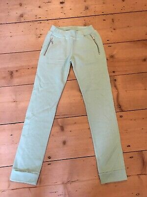 Junior KENZO mint green cotton blend jogging bottoms aged 12 years