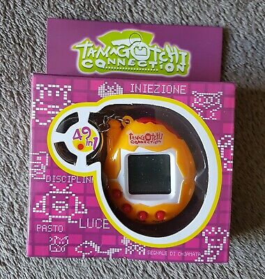 Tamagotchi Connection style Electronic Pet Toy On Keyring New In Box With...