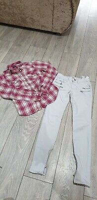 Ladies Topshop And Zara Bundle Size 6-8 Shirt And Jeans