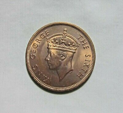 Seychelles. 5 Cents, 1948. King George Vi.