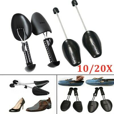 5/10 Pairs Of Men Plastic Shoe Trees Maintain Shape Shoes Footwear Stretcher UK