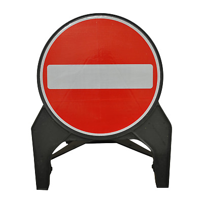 No Entry 750mm Road Traffic Sign - UK Made & BRAND NEW