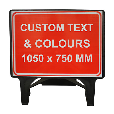 Custom 1050x750mm Road Sign - MADE TO ORDER - ANY DESIGN
