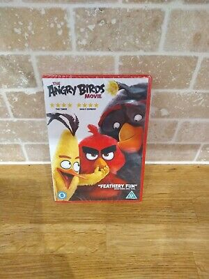The Angry Birds Movie DVD 2016 - *NEW & SEALED*