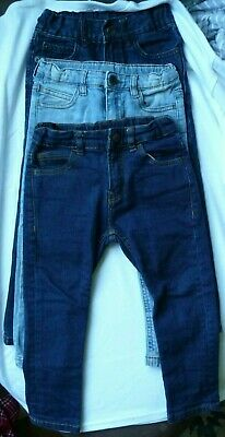 Zara Boys Denim - The Children's Place Jeans - Lot of (3) Pairs Size 4
