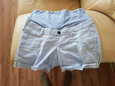 Over The Bump Maternity Shorts 12