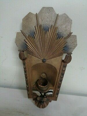 Antique R. Williamson and Co. Wall Sconce Art Deco