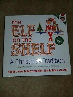 Elf On The Shelf Storybook Holiday Tradition. Brand new