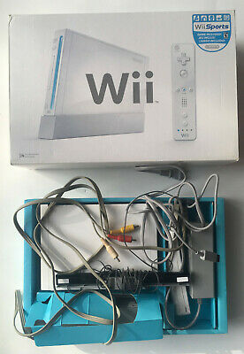 Nintendo Wii Console RVL-001 - System Complete in Box - Great Condition - Tested