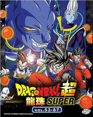 Clearance DVD Dragon Ball Super Chapter 53-87 End Japanese Anime English Sub