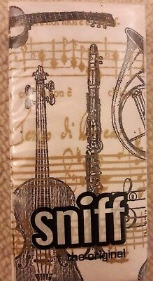Music note / musical tissues gift - 10pk 4-ply designer tissues by Sniff