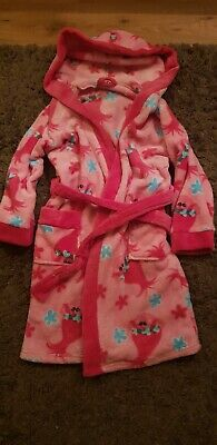 Girls Trolls Dressing Gown 7-8 Years