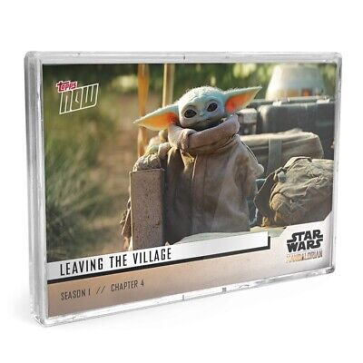 Star Wars: The Mandalorian TOPPS NOW 5-Card Pack - S1 : Chapter 4 Sanctuary Yoda