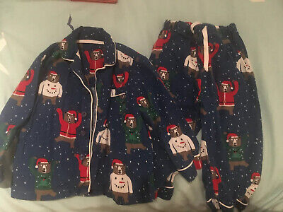 Boys M&S Christmas Pyjamas Age 1-2