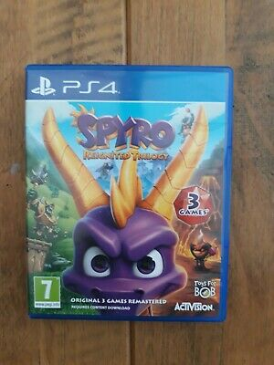 Spyro Reignited Trilogy Game Ps4