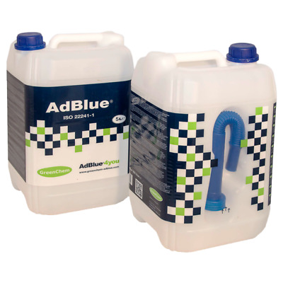 Greenchem Adblue 5 Litre with Free Pouring Spout
