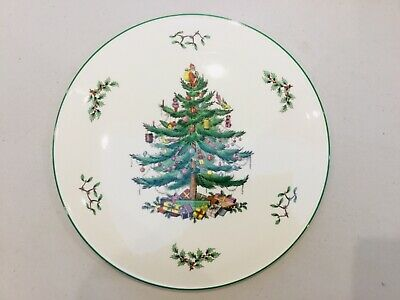 SPODE CHRISTMAS TREE  large Christmas Cake Stand / Cheese Board