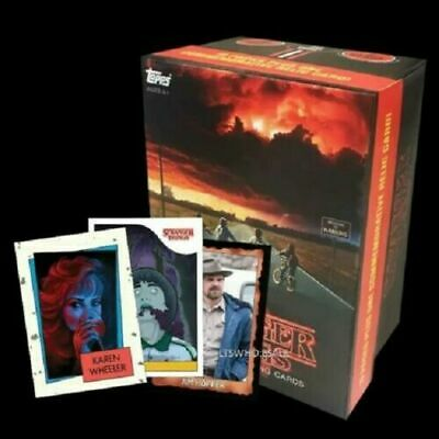 2019 Topps Stranger Things Exclusive Box 10 Packs & Relic Card NEW SEALED