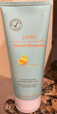 Jafra Tender Moments  Cleansing Baby Hair And Body Wash 6.7 OZ