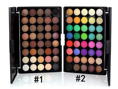40 Colors Cosmetic Natural Eye Shadow Makeup Shimmer Matte Eyeshadow Palette  HT