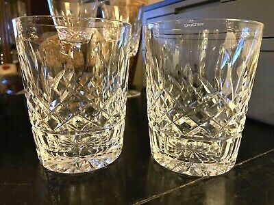 Waterford Lismore (1) Double Old Fashioned DOF MINT Condition