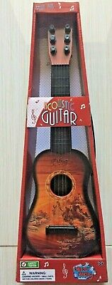 """17"""" Acoustic 6 String Kids 1st Guitar Junior Melody Makers New"""