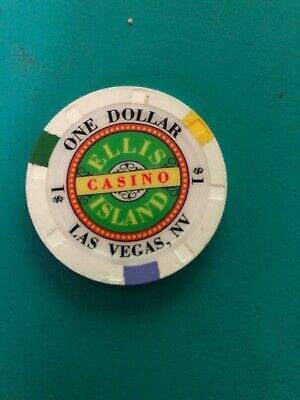 Ellis Island Casino Chip Las Vegas Obsolete