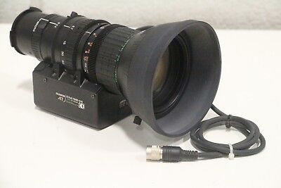 Fuji Fujinon S18x6.7BMD-D18 AT Aspheric 1:1.4 6.7-121mm TV Security Zoom Lens