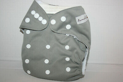 Anmababy Adjustable Size Waterproof Washable Pocket Cloth Diaper w/Insert